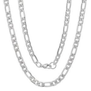Other - Men's Diamond Cut Stainless Steel Chain Necklace